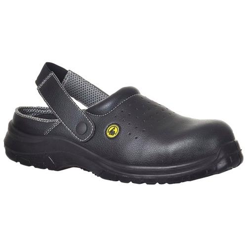 Portwest FC03 Compositelite™ ESD Perforated Safety Clog SB AE